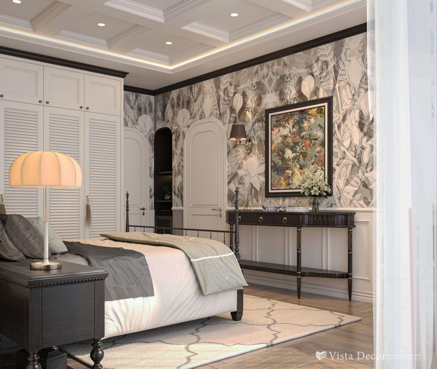 Thiết kế phòng ngủ căn hộ 2PN diện tích 110 - dự án Aria Vũng Tàu